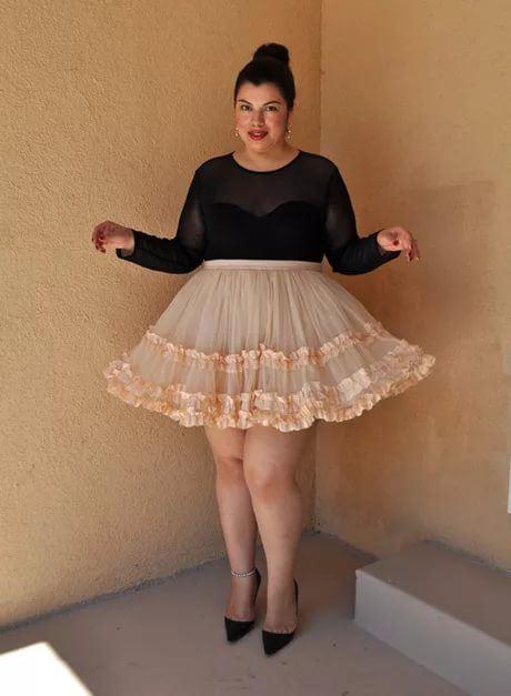 архивах фото толстушек в коротком платье подозрительного