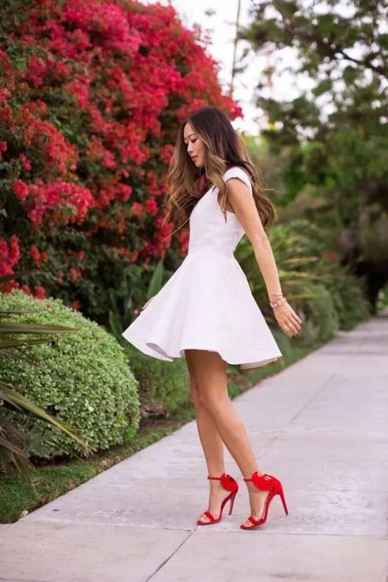 Красивое Платье И Каблуки