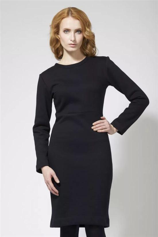 Платье с длинным рукавом фото классика