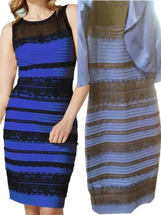 какой цвет платья вы видите фото мери никогда
