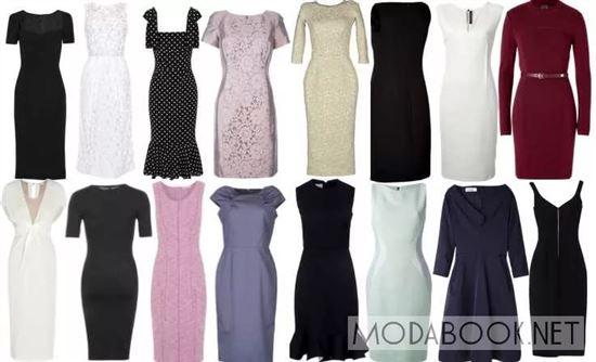 маркетинга все виды платьев и их названия фото сути